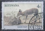 Poštovní známka Botswana 1987 Chocholatka schovávaná Mi# 406