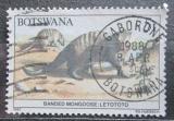 Poštovní známka Botswana 1987 Mangusta žíhaná Mi# 407