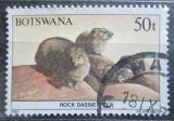 Poštovní známka Botswana 1987 Daman skalní Mi# 418