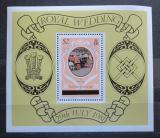 Poštovní známka Caicos 1981 Královská svatba Mi# Block 1 II