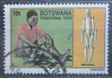 Poštovní známka Botswana 1994 Dřevěná panenka Mi# 561