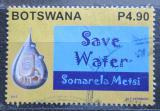 Poštovní známka Botswana 2013 Šetři vodou Mi# 971