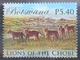 Poštovní známka Botswana 2014 Lvi Mi# 989