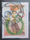 Poštovní známka Botswana 1996 Olympijské kruhy Mi# 605