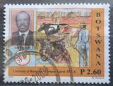 Poštovní známka Botswana 2007 Botswanská univerzita, 25. výročí Mi# 857