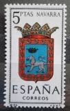 Poštovní známka Španělsko 1964 Znak Navarra Mi# 1519