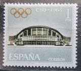 Poštovní známka Španělsko 1965 Mezinárodní olympijský výbor Mi# 1567