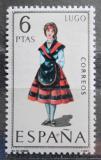 Poštovní známka Španělsko 1969 Lidový kroj Lugo Mi# 1815