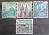 Poštovní známky Španělsko 1969 Pamětihodnosti Mi# 1825-28