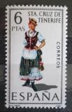 Poštovní známka Španělsko 1970 Lidový kroj Santa Cruz de Tenerife Mi# 1862