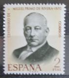 Poštovní známka Španělsko 1970 Generál Miguel Primo de Rivera Mi# 1864