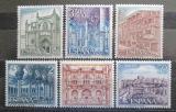 Poštovní známky Španělsko 1970 Pamětihodnosti Mi# 1872-77