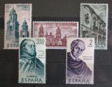 Poštovní známky Španělsko 1970 Americká historie Mi# 1889-93