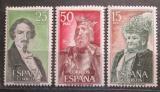 Poštovní známky Španělsko 1972 Osobnosti Mi# 1966-68