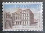 Poštovní známka Španělsko 1972 Divadlo v Barceloně Mi# 2009