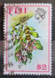 Poštovní známka Fidži 1976 Dendrobium platygastrium Mi# 343