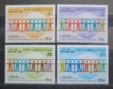 Poštovní známky Libanon 1974 Mezinárodní rok knihy Mi# 1228-31