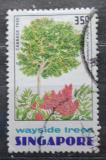 Poštovní známka Singapur 1976 Andira surinamensis Mi# 247