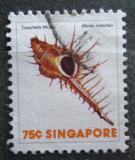 Poštovní známka Singapur 1977 Murex troscheli Mi# 274