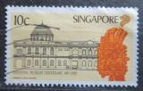 Poštovní známka Singapur 1987 Národní muzeum, 100. výročí Mi# 539