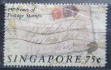 Poštovní známka Singapur 1990 První známky, 150. výročí Mi# 595