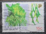 Poštovní známka Singapur 1990 Parožnatka Mi# 615
