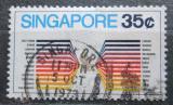 Poštovní známka Singapur 1973 Singapore Airlines Mi# 179