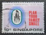 Poštovní známka Singapur 1974 Plánování rodiny Mi# 218