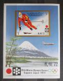 Poštovní známka Adžmán 1971 ZOH Sapporo Mi# Block 335 Kat 10€