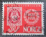 Poštovní známka Norsko 1955 První norské známky, 100. výročí Mi# 391