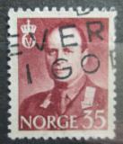 Poštovní známka Norsko 1960 Král Olav V. Mi# 450