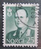 Poštovní známka Norsko 1962 Král Olav V. Mi# 471