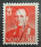 Poštovní známka Norsko 1962 Král Olav V. Mi# 474