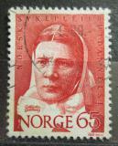 Poštovní známka Norsko 1968 Cathinka Guldberg Mi# 575