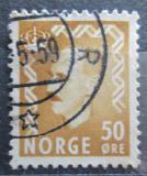Poštovní známka Norsko 1957 Král Haakon VII. Mi# 414