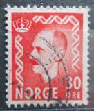 Poštovní známka Norsko 1951 Král Haakon VII. Mi# 361