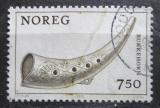 Poštovní známka Norsko 1978 Kozlí roh Mi# 786