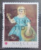 Poštovní známka Norsko 1979 Umění, Mathias Stoltenberg Mi# 793