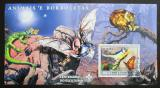 Poštovní známka Svatý Tomáš 2007 Fauna, skauting Mi# Block 592 Kat 11€