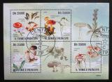 Poštovní známky Svatý Tomáš 2009 Houby a orchideje Mi# 4226-29 Kat 11€