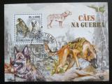 Poštovní známka Svatý Tomáš 2009 Vojenští psi Mi# Block 736 Kat 11€