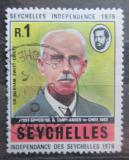 Poštovní známka Seychely 1976 Guvernér Bickham Sweet-Escott Mi# 352