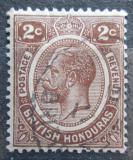Poštovní známka Britský Honduras 1923 Král Jiří V. Mi# 90