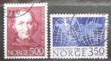 Poštovní známky Norsko 1984 Christopher Hansteen, astronom Mi# 902-03