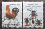 Poštovní známky Norsko 1984 Fauna Mi# 908-09