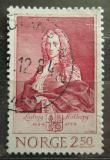 Poštovní známka Norsko 1984 Ludvig Holberg, básník Mi# 910