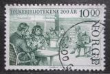 Poštovní známka Norsko 1985 Veřejné knihovny, 200. výročí Mi# 935