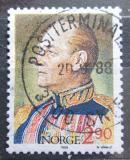 Poštovní známka Norsko 1988 Král Olav V. Mi# 998 I