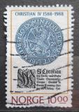 Poštovní známka Norsko 1988 Korunovace krále Christiana IV. Mi# 1002