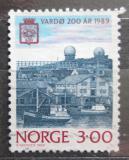 Poštovní známka Norsko 1989 Přístav Vardo Mi# 1015